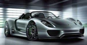 Porsche 918 Spyder – автомобиль 2013 года