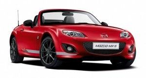 Яркий спортивный родстер Mazda MX-5 Senshu