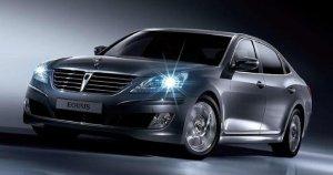 Hyundai Equus. Представительский седан из Кореи.