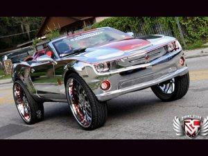Chevrolet Camaro SS поставили на 32-дюймовые колеса