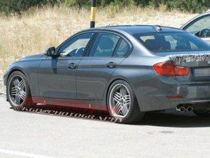 BMW Alpina B3 была замечена без камуфляжа