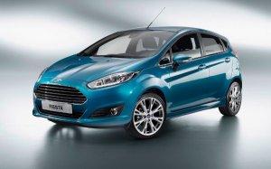 Ford представил обновленную Fiesta