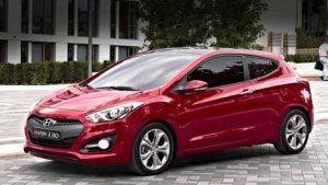 Hyundai показал модель i30 в трехдверной конфигурации