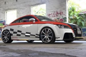Audi TT-RS обзавелся проектом доработки из Тайваня