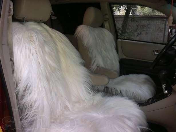 Меховой чехол, меховой чехол на сиденье автомобиля