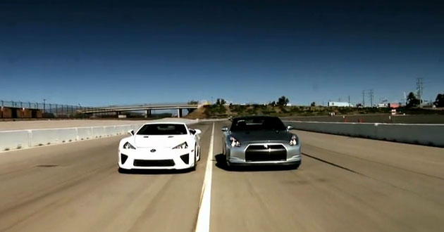 Lexus LFA vs GTR http://streetracing.ru/auto/gallery/