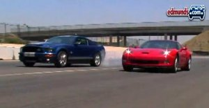 Chevrolet Corvette Z06 vs Ford Shelby GT500KR