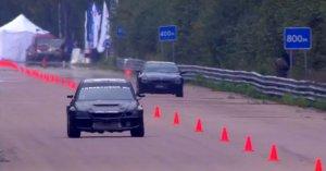 BMW M6 vs Mitsubishi Lancer Evolution