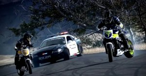Crazy Drift (Motorcycles and The Car)