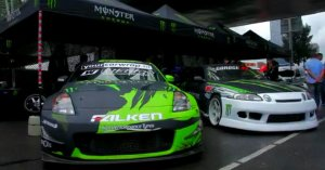 Monster Energy at City Racing Rotterdam 2012