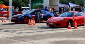 Nissan GT-R vs Novitec Rosso F430