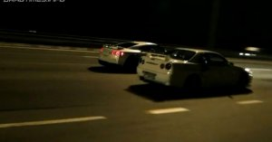 Nissan Skyline GT-R vs Nissan GT-R / Corvette ZR1 vs Nissan GT-R
