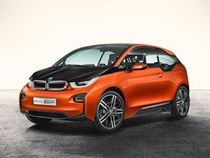 Электрокар BMW i3 теперь и в версии купе