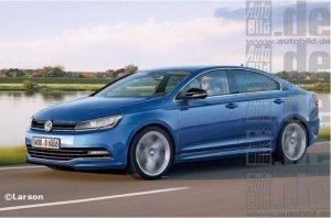 Volkswagen запустят в продажу Golf в кузове седан