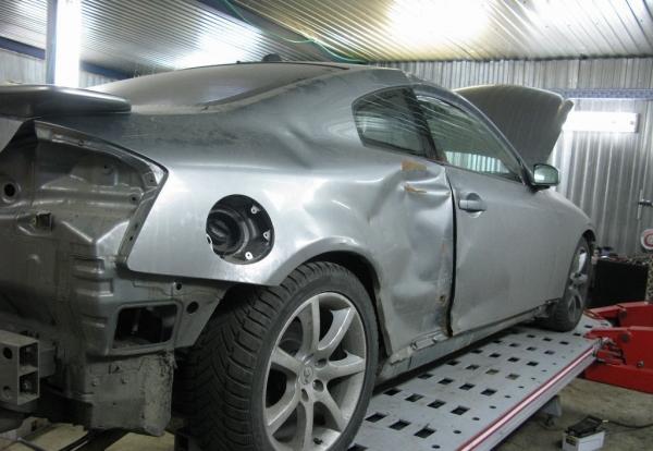 Ремонт кузова авто фото