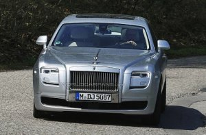 Плановое обновление седана Rolls-Royce Ghost