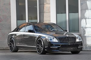 Тюнинг Maybach 57S от ателье Night Luxury