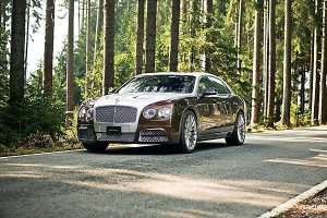 Тюнинг Bentley Flying Spur от ателье Mansory