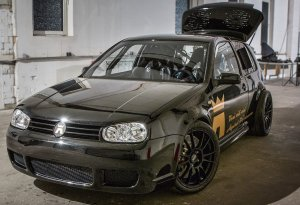 Тюнинг Volkswagen Golf от ателье Asgard Performance